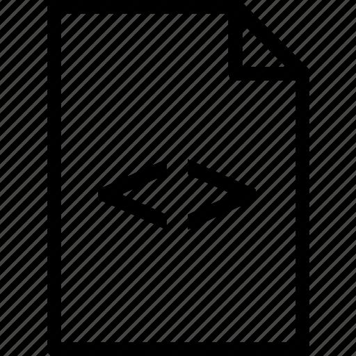 extension, file, filecss, folder, tag icon