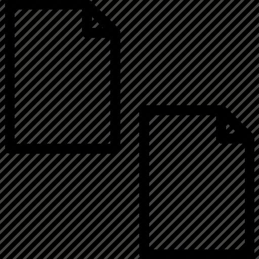 copyfile, extension, file, folder, tag icon