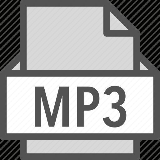 extension, file, folder, mp3, tag icon