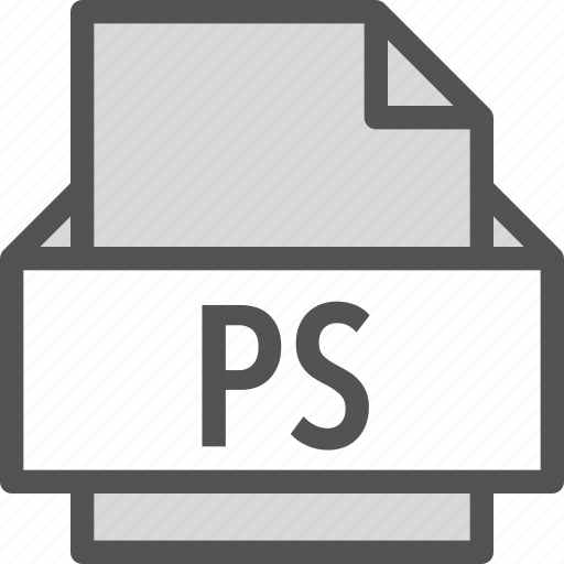extension, file, folder, ps, tag icon