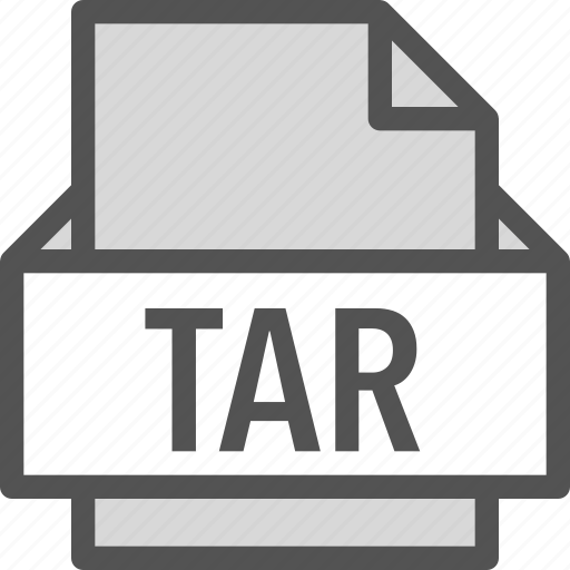 extension, file, folder, tag, tar icon