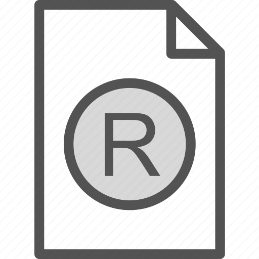 extension, file, folder, registered, tag icon