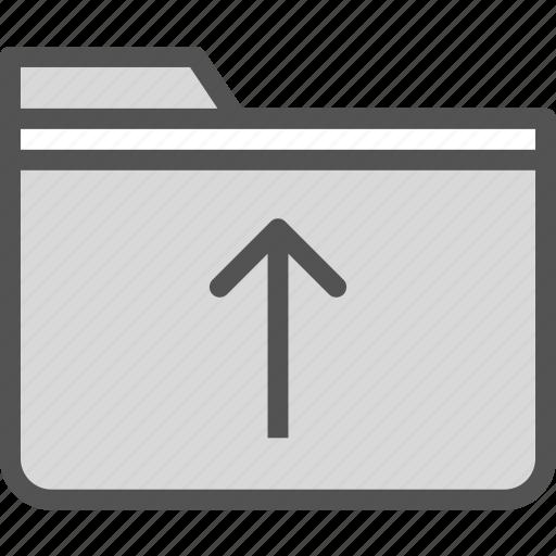 extension, file, folder, folderup, tag icon
