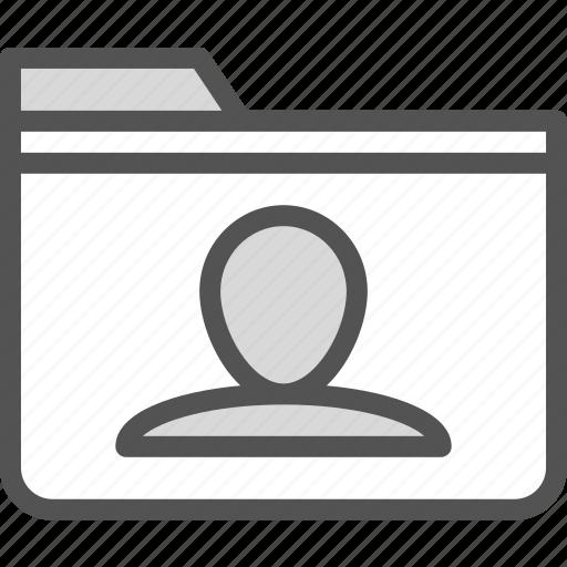 extension, file, folder, folderuser, tag icon
