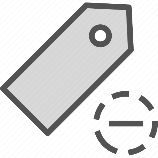 extension, file, folder, tag, tagremove icon