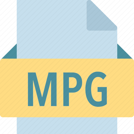 extension, file, folder, mpg, tag icon
