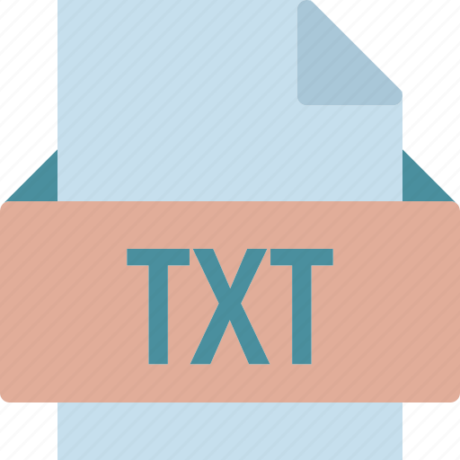 extension, file, folder, tag, txt icon