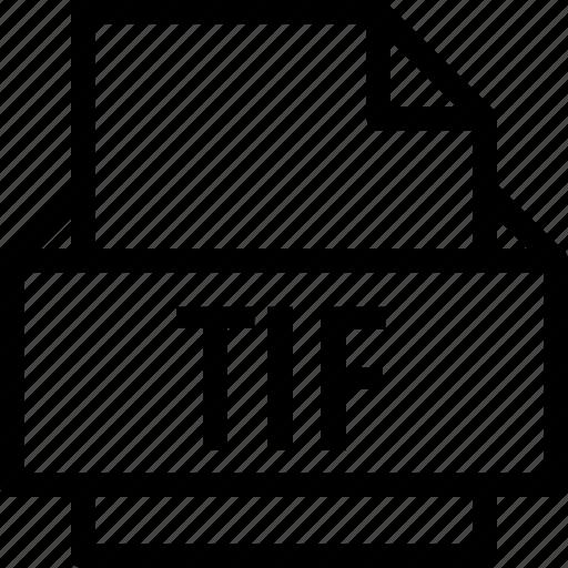 extension, file, folder, tag, tif icon