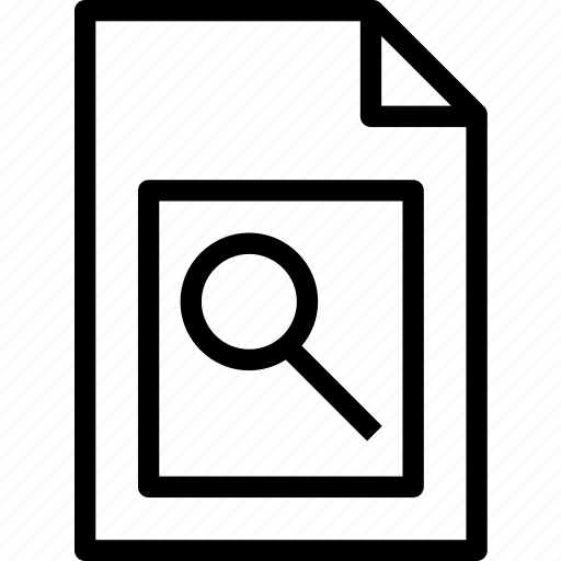 extension, file, folder, search, tag icon