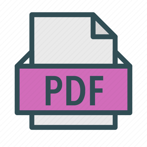 adobe, document, extension, file, pdf icon