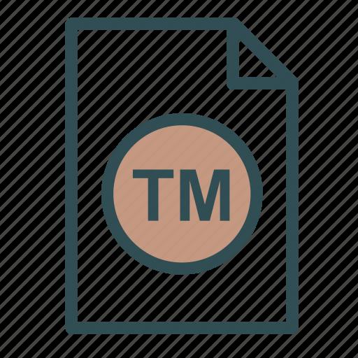 extension, file, scholarometer, tm icon