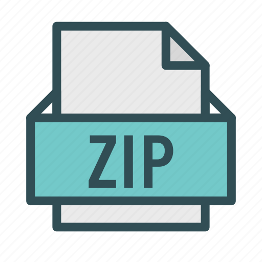 archive, extension, file, zip icon