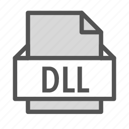 dll, extension, file, windows icon