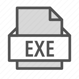 exe, executable, extension, file, windows icon