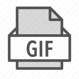 bitmap, extension, file, gif, photo, picture icon