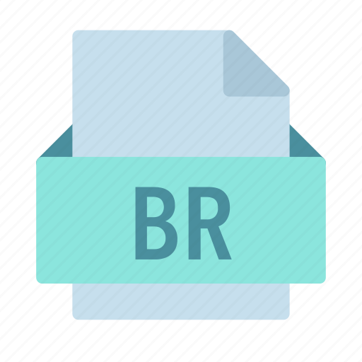 br, bridge, extension, file, omnis, studio icon