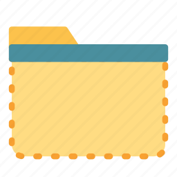 computer, cut, empty, folder, pc, select icon