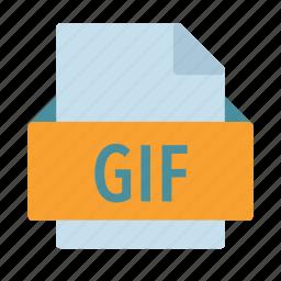 bitmap, extension, file, gif, photo, picture icon