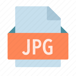 extension, file, jpg, photo, picture icon