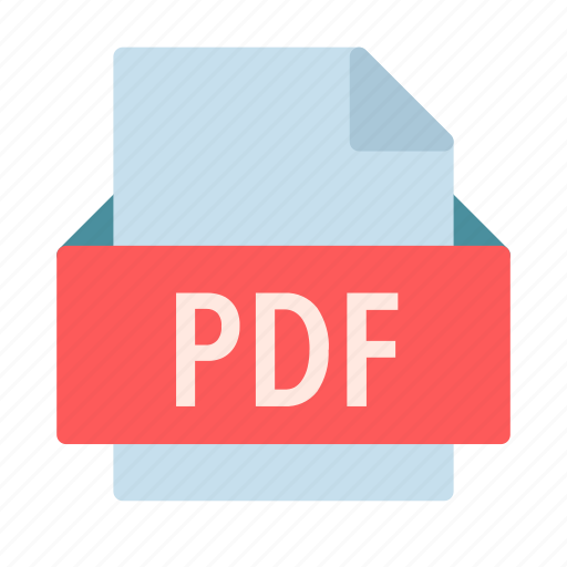 adobe, document, extension, file, pdf icon
