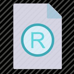 extension, file, netlogo, registered icon
