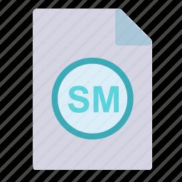 extension, file, maker, script, sm icon