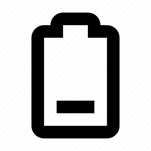 battery, charing, electricity, empty icon