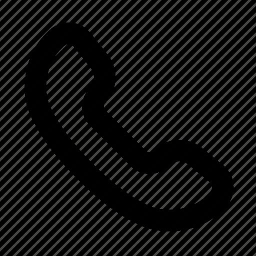 call, caller, facetime, telephone icon