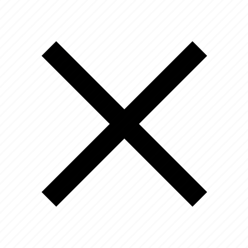 cross, decline, delete, remove icon