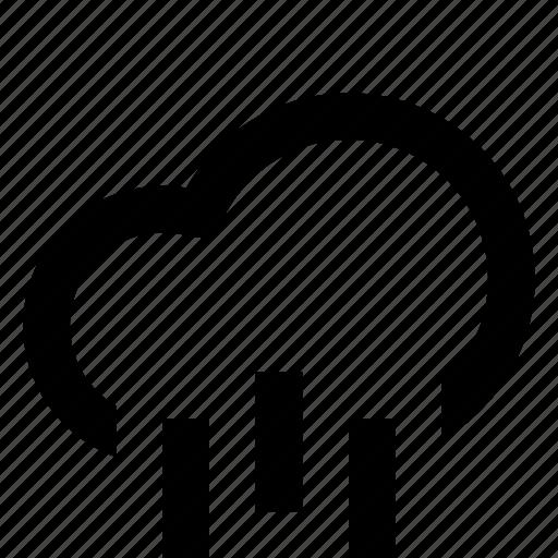 clouds, monsoon, rain, storm icon