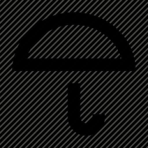 protect, rain, safe, umbrella icon