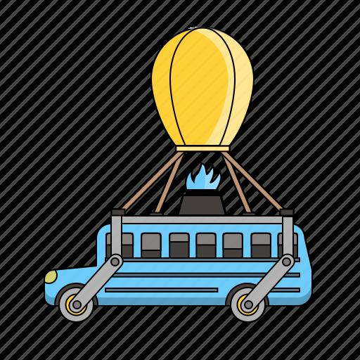 Battle, bus, car, fortnite icon - Download on Iconfinder