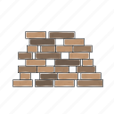 battle, brick, construction, fortnite, game, royale, wall
