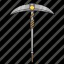 axe, battle, fortnite, pickaxe, pubg, royale, weapon