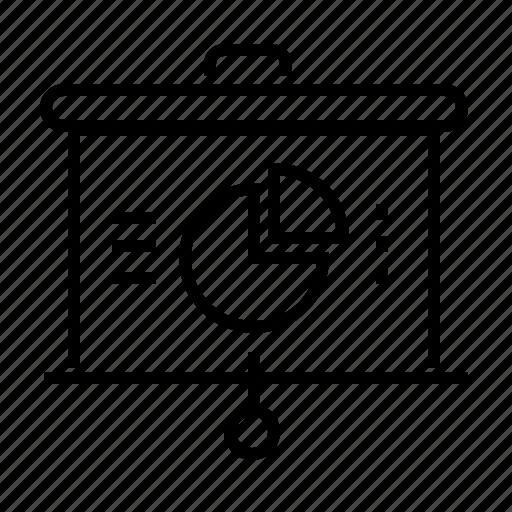 business, diagram, information, presentation icon