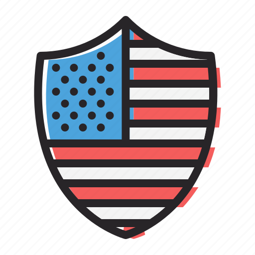 america, american, flag, insignia, july 4th, reward, shield icon