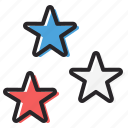 america, american, fourth of july, independence day, july 4, star, stars icon
