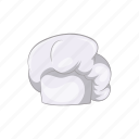 cap, cartoon, chef, cook, hat, kitchen, restaurant icon