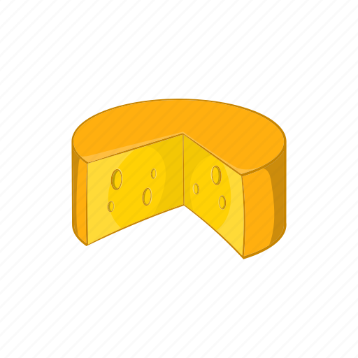 appetizer, cartoon, cheese, dairy, food, french, gourmet icon