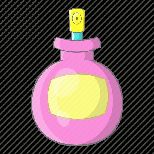 bottle, cartoon, container, fashion, glass, luxury, perfume icon