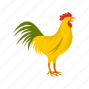 bird, cock, france, french, gallic, poultry, rooster icon