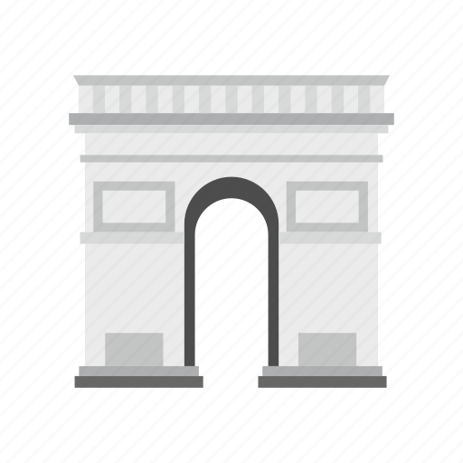Arch, france, landmark, paris, tower, travel, triumphal arch icon - Download on Iconfinder