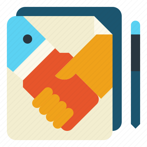 agreement, contract, cooperation, deal, join icon