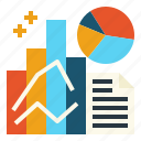 analysis, data, market, research icon