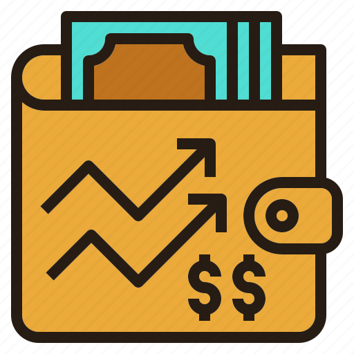 chart, financial, investing, money, stock icon