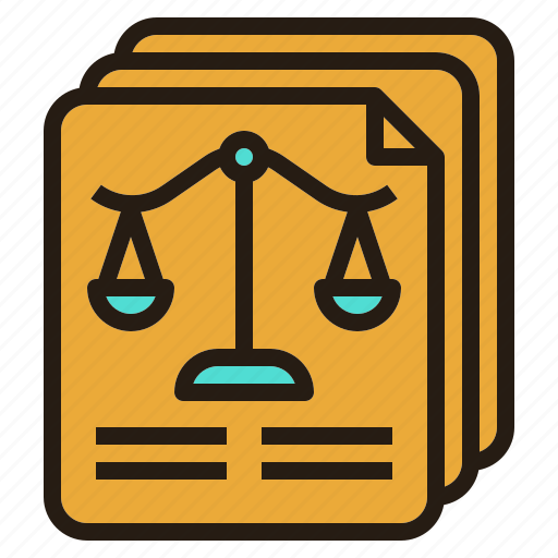 document, law, legal, paper icon