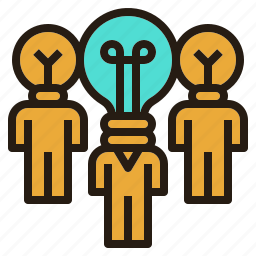 business, creative, innovation, people, talented, team icon