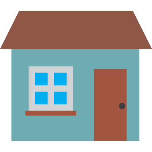 home, house, property, with, wondow icon