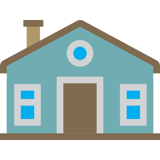 Front, home, house, view, building icon - Free download