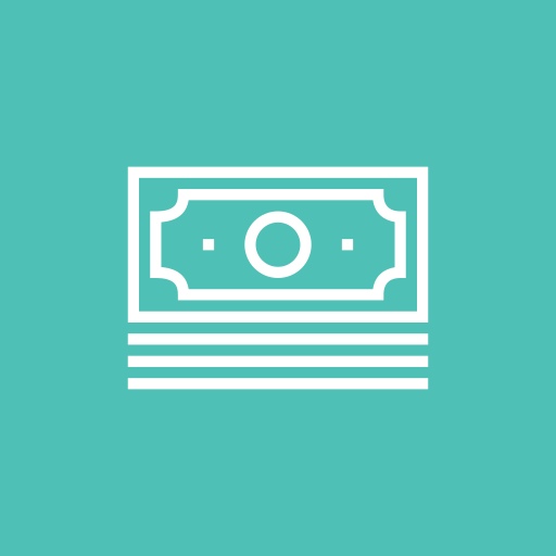 bills, business, cash, dollar, money icon